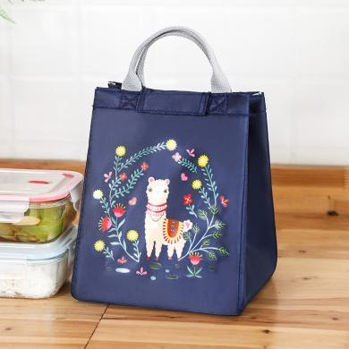 優芬簡約牛津布便當包飯盒袋子手提包學生加厚帆布飯盒保溫袋