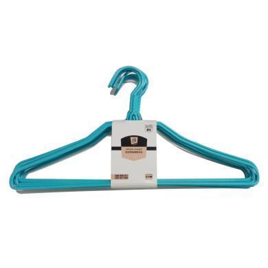 DK菲爾芙扭花帶肩浸塑衣架 JZ1(8只裝)