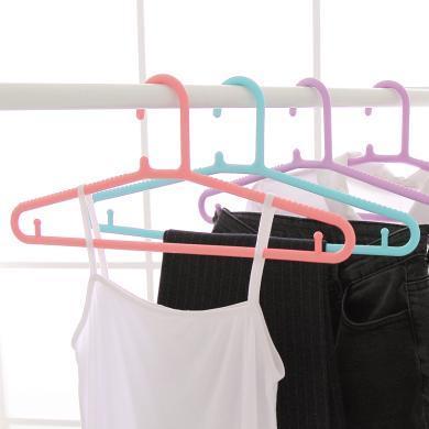塑料衣架衣服架子加厚防滑衣架家用無痕防風衣掛大號成人衣架