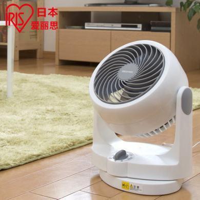 日本愛麗思IRIS搖頭空氣循環扇靜音節能家用電風扇臺式渦輪對流扇PCF-DH15C