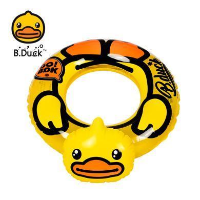 B.DUCK正版小黃鴨 立體泳圈