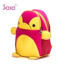 Sasa/萨萨 【学生定制款】环保潜水料儿童可爱卡通企鹅书包SAE52-H0510M