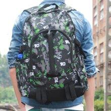 香炫儿XIASUAR 运动旅行背包韩版初中学生书包电脑包男士潮休闲双肩包男女