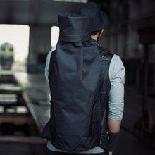 香炫儿XIASUAR 旅行包潮男暗黑大容量双肩包中学生书包韩版死飞包男C0218