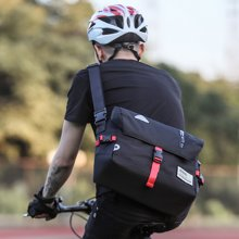 香炫儿XIASUAR 骑行包书包斜跨邮差包 潮男女学生单肩包死飞单车包自行车