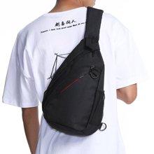 香炫儿XIASUAR 男士胸包运动腰包单肩包斜挎包男包户外女韩版潮牌小背包男