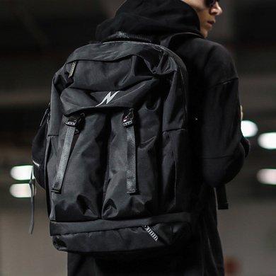香炫兒XIASUAR 時尚潮流雙肩包男旅行背包大容量戶外休閑旅游電腦包個性學生書包