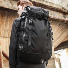 香炫儿XIASUAR 欧美潮牌双肩包男士旅行休闲背包大容量户外旅游登山包书包