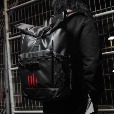 香炫兒XIASUAR 歐美街頭潮牌背包大容量雙肩包戶外旅行登山包電腦學生書包
