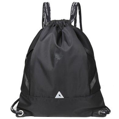 香炫兒XIASUAR 抽繩雙肩包男旅行束口袋拉繩健身背包訓練戶外運動籃球包輕便書包