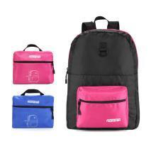 新秀丽之美国旅行者 品质包袋 折叠背包 旅行袋 运动双肩包 美旅休闲背包 Z19*037