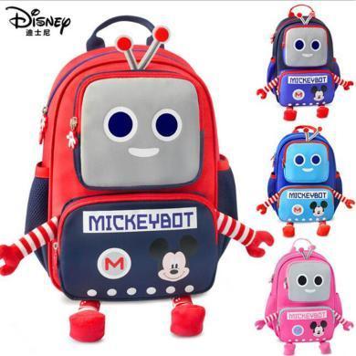 迪士尼 機器人書包嬰幼兒園男童潮3歲5小男孩子女寶寶迪士尼兒童雙肩背包SM81088