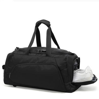 薩蒙斯 男士商務折疊西裝旅行包干濕分離防水大容量手提包 918398