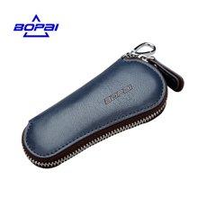 博牌 新品男士时尚拉链锁匙包多功能钥匙扣汽车钥匙包00301