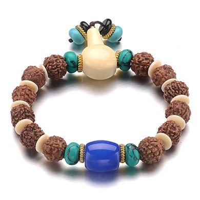 石玥珠寶 藏式金剛子菩提手鏈 XY01418