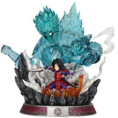风下Hrfly火焰宇智波斑手办现货 火影忍者手办模型摆件 日本动漫人物模型