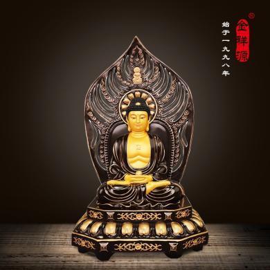 風下Hrfly阿尼陀佛 大勢至釋迦牟尼佛像擺件 家居佛堂供奉神像