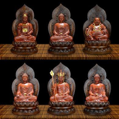 風下Hrfly地藏王觀世音菩薩樹脂工藝品擺件 家居客廳小佛像