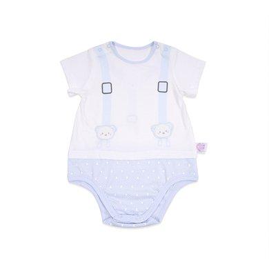 丑丑嬰幼 男女寶寶包臀哈衣夏季新款嬰幼兒純棉包臀哈衣、爬服、連體衣 CJD004X