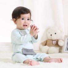 特贝尔婴儿衣服秋季新生儿爬服0-3岁连身体纯棉宝宝连体衣外出服7004D
