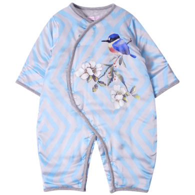 丑丑婴幼 冬季男女宝宝保暖连体衣服婴幼儿侧开棉哈衣、爬服 CKE054W