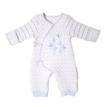 丑丑婴幼 新款新生儿保暖绑带哈衣婴幼儿连体衣0-6个月