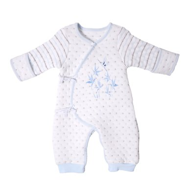 丑丑嬰幼 新款新生兒保暖綁帶哈衣嬰幼兒連體衣0-6個月