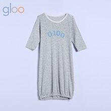 g100寄意百婴儿夏季薄款长袖睡袋新生儿童装透气网眼空调防踢被GMS7805