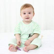 班杰威爾新生兒夏季純棉寶寶內衣短袖哈衣初生嬰兒連體衣服