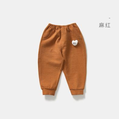威尔贝鲁宝宝男女童针织长裤