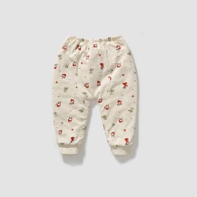 威尔贝?#22478;?#20908;宝宝裤?#29992;?#27611;布夹棉大屁屁裤