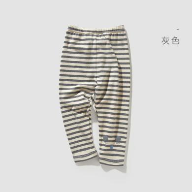 威尔贝鲁宝宝打底裤春秋外穿休闲裤子