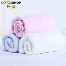【Cottonshop棉店】純棉紗布嬰幼兒浴巾 15C3B521025新生兒超吸水洗澡巾 加大加厚兒童寶寶毛巾被