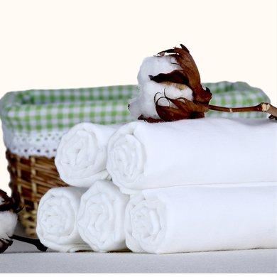 棉店 5条装75*53超大 包邮 加大 加长婴儿纯棉?#24202;?#23615;布 新生儿双层尿片 妈咪美容巾 零甲醛?#19978;?#38548;尿布
