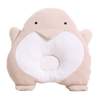 【Cottonshop棉店】嬰兒枕頭防偏頭定型枕0-1歲 新生兒寶寶矯正頭型3-6個月糾正偏頭舒絨布定型枕頭