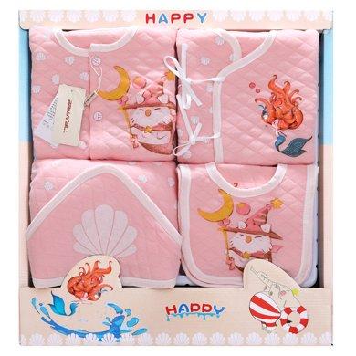 班杰威爾18件套秋冬純棉嬰兒禮盒新生兒套裝衣服禮盒滿月寶寶用品送禮禮物
