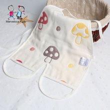 Marvelous Kids 夏季新生嬰幼兒純棉紗布連體肚兜0-2歲寶寶