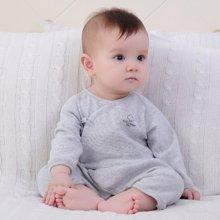 【Cottonshop棉店】嬰兒連體衣春秋冬季純棉新生兒衣服0-6-12個月哈衣寶寶睡衣
