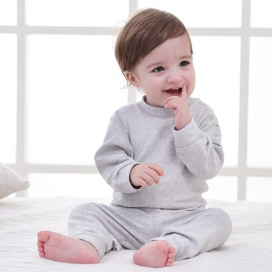 【Cottonshop棉店】嬰兒衣服純棉新生兒套裝春秋0-3個月初生剛出生寶寶用品四季肩開套裝