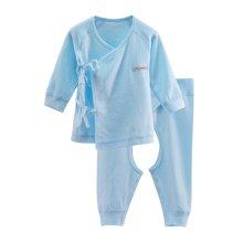 【Cottonshop棉店】新生儿套装初生儿内衣宝宝纯棉家居服爬爬衣0-3-6个月哈衣系带和尚两件套
