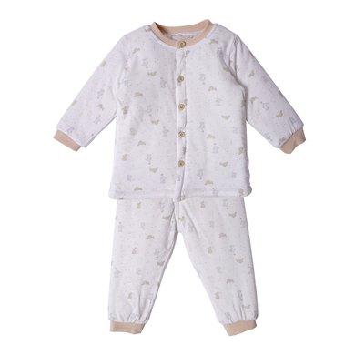 丑丑嬰幼 男女寶寶前開棉套裝男女寶寶冬季保暖棉衣套裝 0-2歲