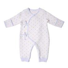 丑丑婴幼 新生儿绑带连体衣爬服新款反袖圆领哈衣和尚服 0-6个月