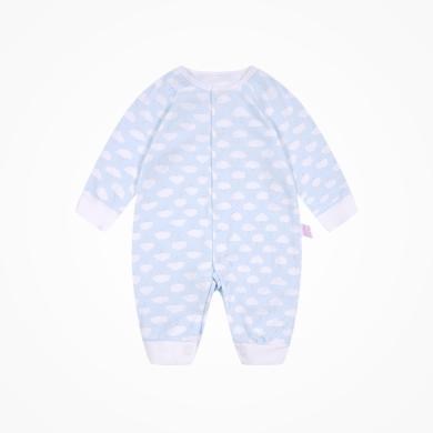 丑丑嬰幼 男女寶寶可愛前開哈衣四季男女童純棉長袖哈衣、爬服、連體衣0-1歲半 CMD002X