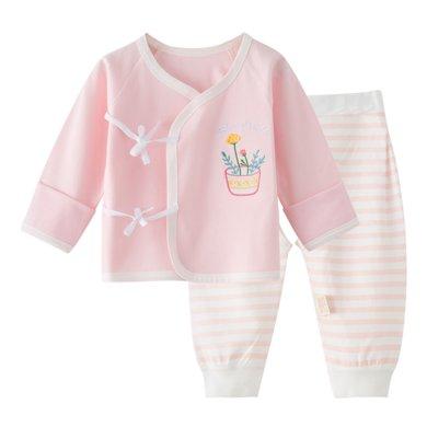 班杰威爾純棉春裝嬰兒內衣套裝秋冬寶寶秋衣初生童睡衣新生兒衣服