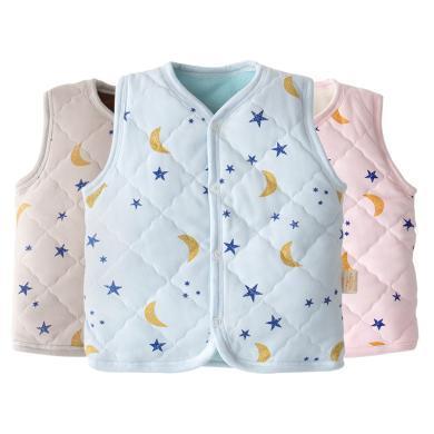班杰威尔秋冬季儿童加厚马甲婴儿背心男童女童宝宝新生儿1-3岁小童
