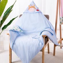 班杰威爾嬰兒抱被四季新生兒純棉用品初生被子可拆卸睡袋包被