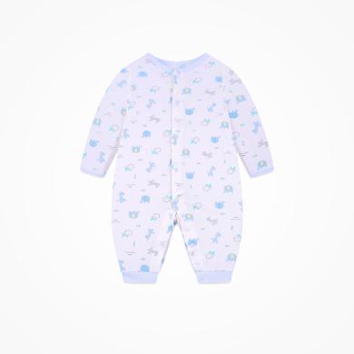 丑丑嬰幼  男女寶寶純棉前開哈衣四季新款舒適可愛長袖哈衣、爬服、連體衣   CND029X
