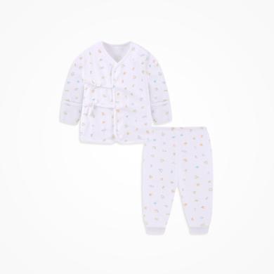 丑丑嬰幼 男女寶寶純棉綁帶套裝四季嬰幼兒內衣家居服綁帶套裝