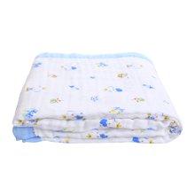 【Cottonshop棉店】嬰兒毛毯新生兒蓋毯兒童幼兒園寶寶云毯小被子四季毯子0-7歲寶寶均可用 四季可用空調被涼被六層紗布寶寶蓋毯大碼