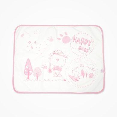 丑丑嬰幼 新生兒隔尿墊防水透氣可清洗棉質秋季新品新生兒防尿墊CIA302T